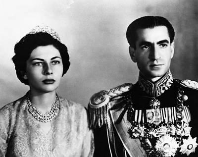Mohammad Photograph - Shah Of Iran Mohammad Reza Pahlavi by Everett