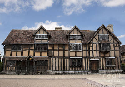 Stratford Photograph - Shakepeare's House by Jane Rix