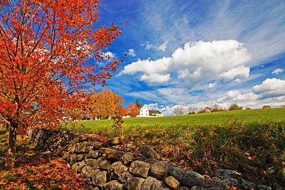 Photograph - Shaker Village by Robert Clifford