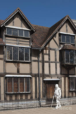 Stratford Photograph - Shakespeare's Ghost by Andrew  Michael