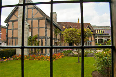 Stratford Photograph - Shakespeares Home by Jon Berghoff