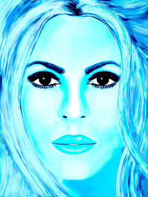Shakira Wall Art - Digital Art - Shakira Avator by Mathieu Lalonde