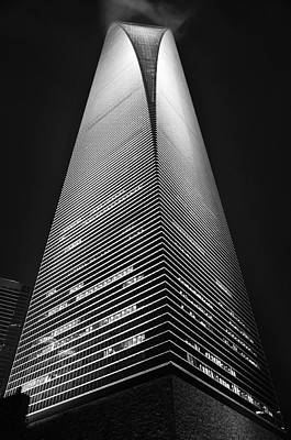 Photograph - Shanghai World Financial Center by Jason Chu