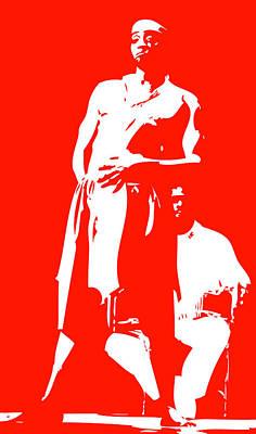 Orishas Digital Art - Shango 3 by Duwayne Washington