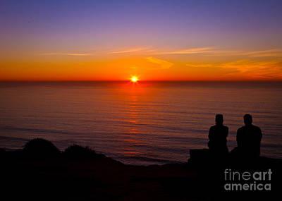 Share A Sunset To Start 2012 Art Print by Carl Jackson