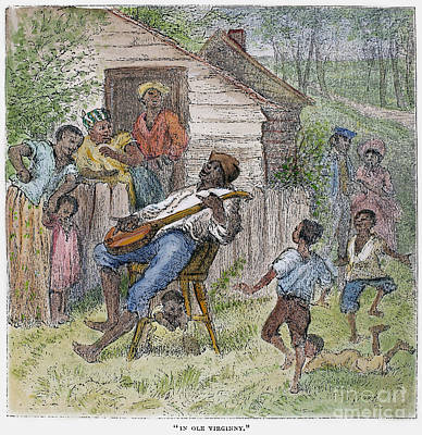 Sharecroppers, 1876 Art Print by Granger