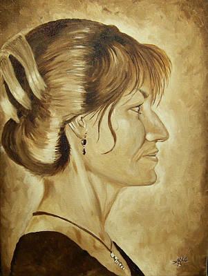 Sharon Art Print by Robert Fenwick May Jr