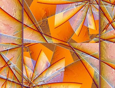 Mixed Media - Shattered by Connie Dye