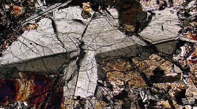 Shattered Lunar Landing Art Print