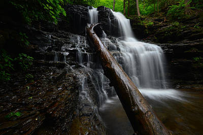 Photograph - Shawnee Falls by Bernard Chen