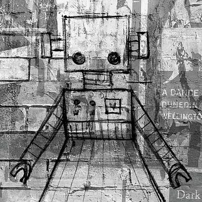 Bot Digital Art - She-bot by Roseanne Jones