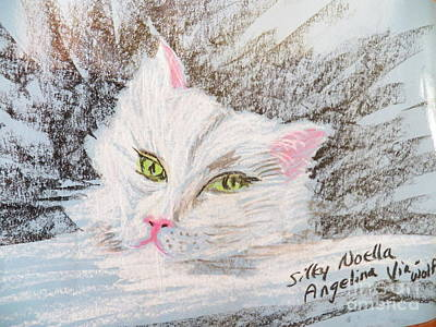 Pastel - She by Judy Via-Wolff