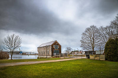 Photograph - Sheaf's Warehouse by Robert Clifford