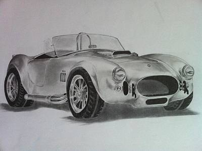 Shelby Cobra Art Print by Aaron Mayfield