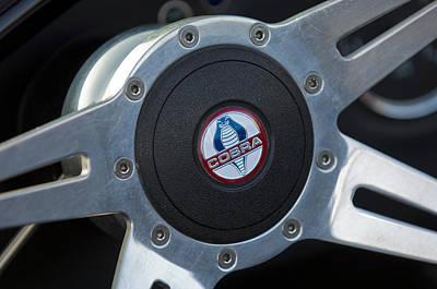 Photograph - Shelby Cobra Steering Wheel by Jill Reger