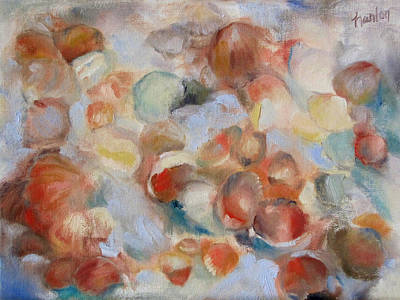 Painting - Shell Impression I by Susan Hanlon