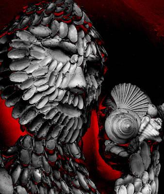 Shell Man Art Print by Lori Seaman