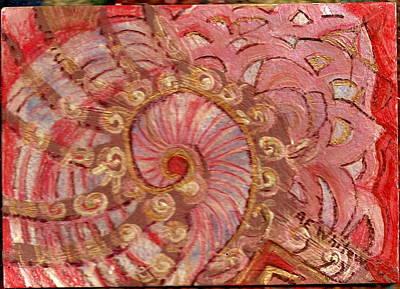 Shell Sensation Art Print by Anne-Elizabeth Whiteway