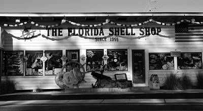 Shell Shop 1955 Art Print