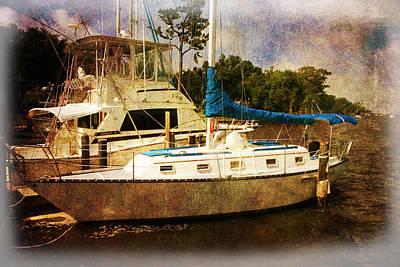 Sheltered Harbor Art Print