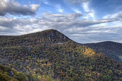 Photograph - Shenandoah Mountains In Early Autumn by Pierre Leclerc Photography