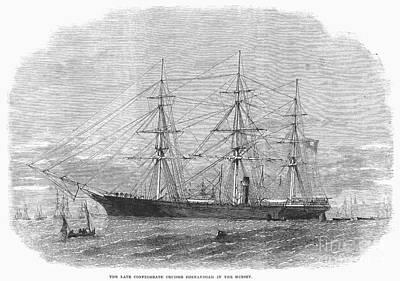 Shenandoah Surrender, 1865 Art Print by Granger