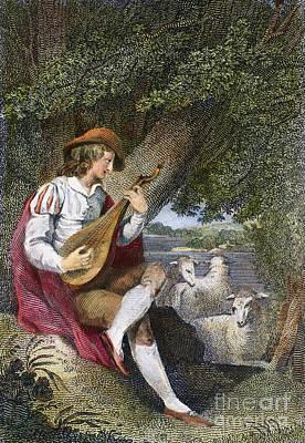 Shepherd Art Print by Granger