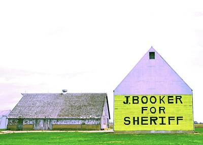 Sheriff Booker And Take Her Away Art Print by Daniel Ness