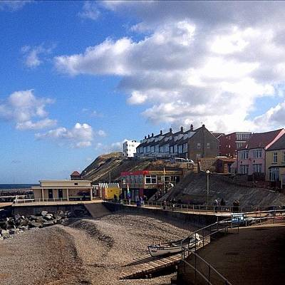 Norfolk Photograph - Sheringham Norfolk #iphoneography by Dave Lee