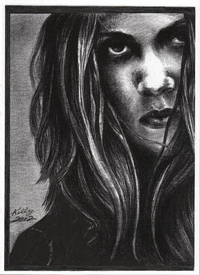 Crows Drawing - Sheryl Crow by Kathleen Kelly Thompson