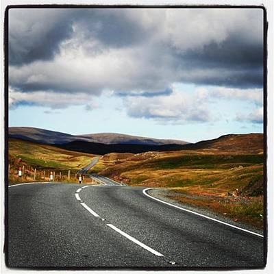 Landscapes Wall Art - Photograph - Shetland's Road by Luisa Azzolini