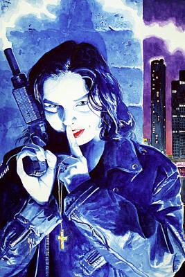 Women Painting - Shhhh by Ken Meyer