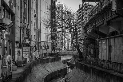 Shibuya Photograph - Shibuya River by photos by Ignat Gorazd