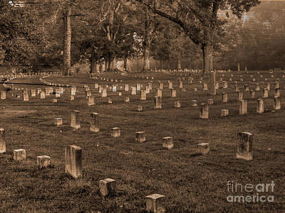 Photograph - Shiloh National Cemetery by David Bearden