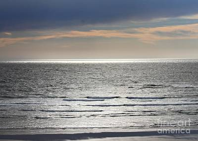 Photograph - Shimmering Ocean by Erica Hanel