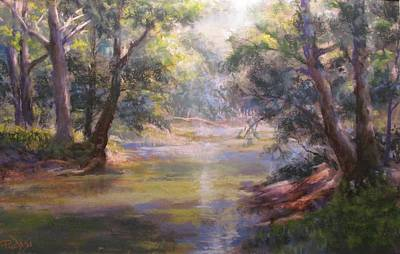 Pastel - Shimmering Stream by Bill Puglisi