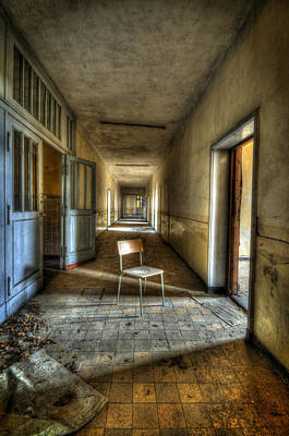 Haunted House Photograph - Shine On My Chair by Nathan Wright