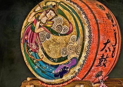 Shinto Drum Art Print by Karen Walzer