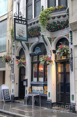 Photograph - Ship Public House In London by David Birchall