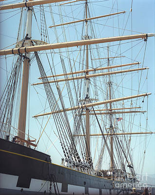 Photograph - Ship Rigging by Jim And Emily Bush