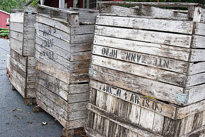 Sculpture - Shipping Crates by Margie Avellino