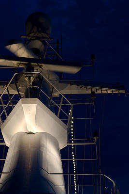 Photograph - Ship's Superstructure by Ed Gleichman