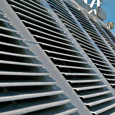 Photograph - Ship's Ventilation Louvers by Kirsten Giving