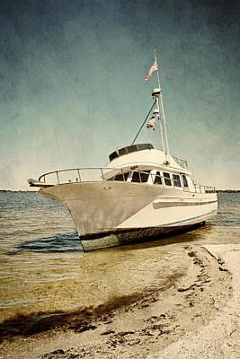 Photograph - Shipwreck by Cheryl Davis