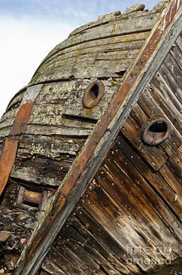 Shipwreck In Sweden Art Print