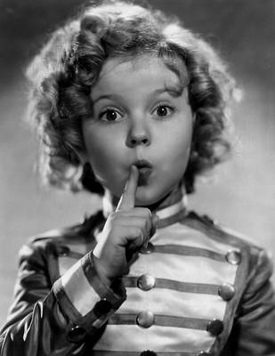 Shirley Temple Print by Everett