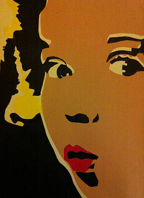 Shirley Temple Mixed Media - Shirley Temple Ooh by Siobhan Bevans