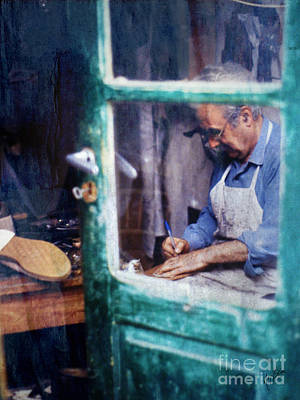 Briex Photograph - Shoe Maker In Crete by Nop Briex