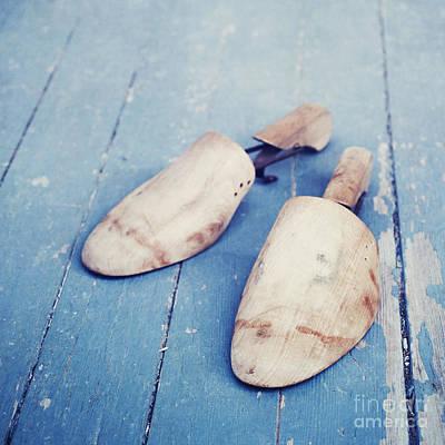 Decorativ Photograph - shoe trees II by Priska Wettstein