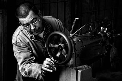 Fine Thread Photograph - Shoemaker by Ilker Goksen